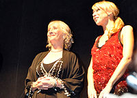 Gemma Jones and Lucy Punch