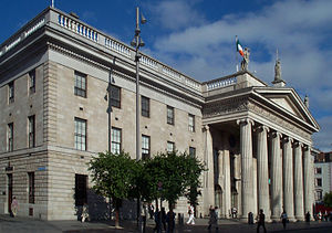 An Post - The General Post Office in Dublin, headquarters of An Post