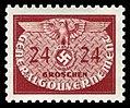 Generalgouvernement 1940 D21 Dienstmarke.jpg
