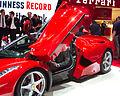 Geneva MotorShow 2013 - Ferrari LaFerrari opened door.jpg
