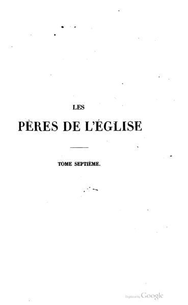 File:Genoude - Les Pères de l'Eglise, vol. 7.djvu
