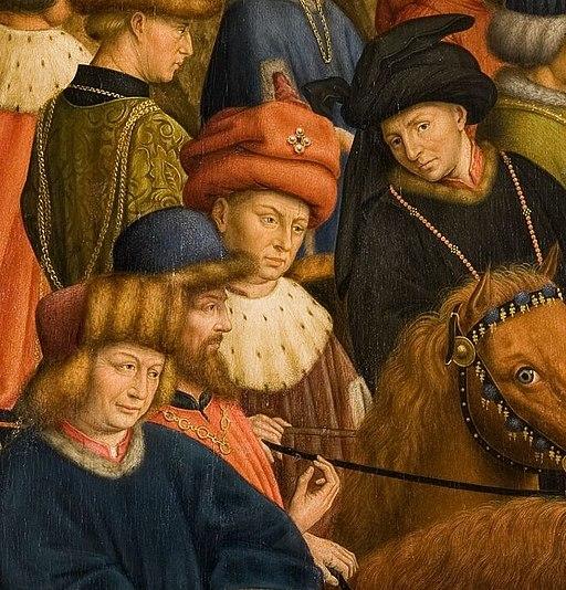 Genter Altar Portraits Hubert und Jan van Eyck
