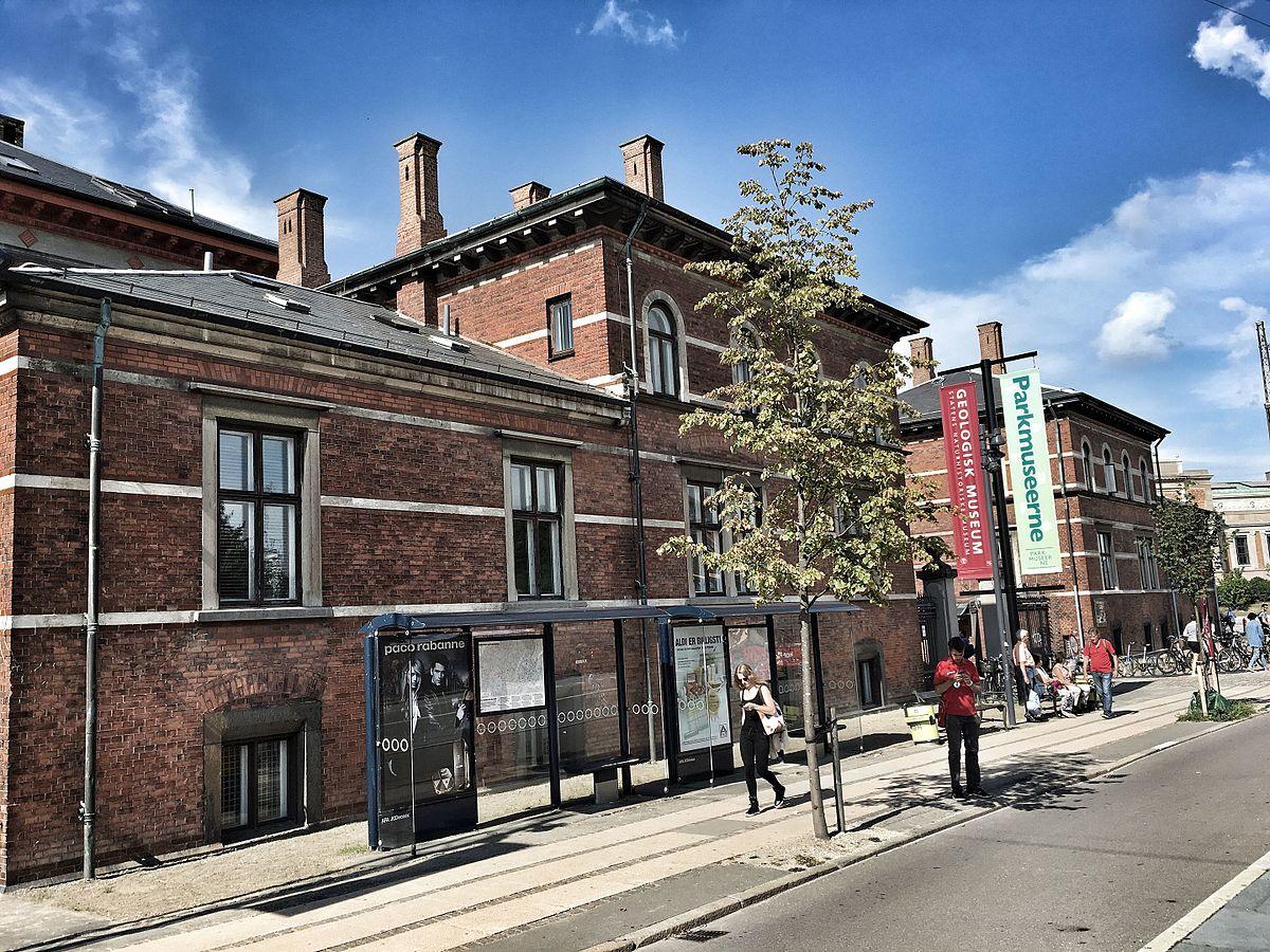 Gammel Estrup museum center fliser