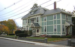 George A. Barker House - Image: George A Barker House Quincy MA 02