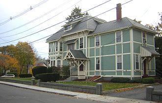 George A. Barker House - Image: George A Barker House Quincy MA 02
