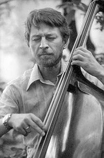 George Mraz Czech-born American jazz bassist