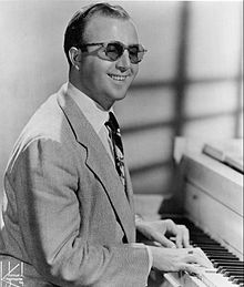 image of George Shearing, who wrote Lullaby of Birdland. The lyrics are by George David Weiss