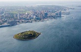 Georges Island (Nova Scotia) - Georges Island Photo: Jeff Vienneau