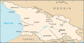 Мапа Грузіі
