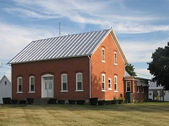 Maria Stein, Ohio - 19th-century farm house in Maria Stein