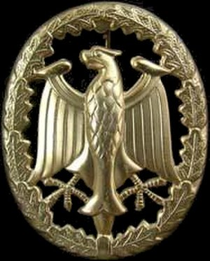 German Armed Forces Badge for Military Proficiency - Image: German Armed Forces Badge for Military Proficiency