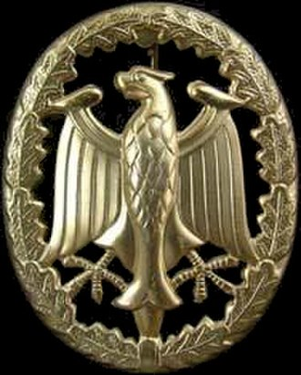 Authorized foreign decorations of the United States military - Image: German Armed Forces Badge for Military Proficiency