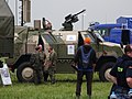 German Dingo 2 with FLW 100 at the 2016 NATO Days in Ostrava.jpg