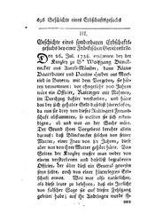 Geschichte eines sonderbaren Erbschaftsgesuchs bey einer Fränkischen Gerichtsstelle, S. 696-706