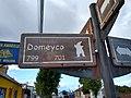 Ghost like figures on sign Puerto Natales Chile.jpg