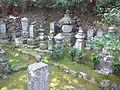 Giô-ji Buddhist Temple - Stone pagodas.jpg