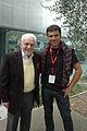 Gilles Perret et Léon Landini Mouans-Sartoux octobre 2013 photo2.JPG