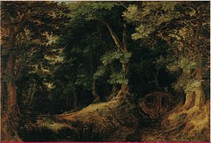 Gillis van Coninxloo - Forest Landscape, 1598, Liechtenstein Collection