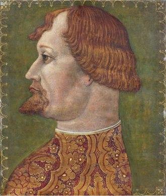 Gian Galeazzo Visconti - Image: Giov Ambrogiode Predisattrib Gian Galeazzo Visconti