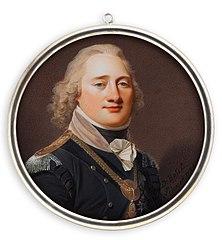 Major Genral Anders Fredrik Palmfelt