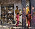 Girls playing in the colored city o.jpg