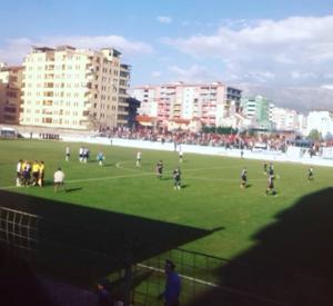 KS Pogradeci - Image: Gjorgji Kyçyku Stadium