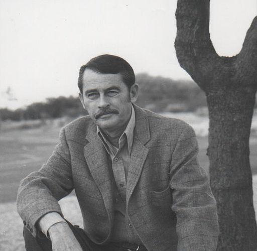 Glendon Swarthout at home in Scottsdale, Arizona
