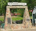 Glenwood Canyon monument at Colorado Railroad Museum.jpg