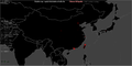 Global distribution of Wikipedia edits - Chinese around China.png