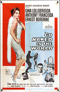 <i>Go Naked in the World</i> 1961 American drama Metrocolor film