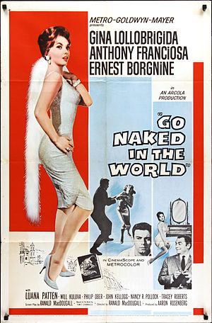 Go Naked in the World - Theatrical release poster by Reynold Brown