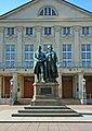 Goethe und Schillermonument in Weimar.JPG