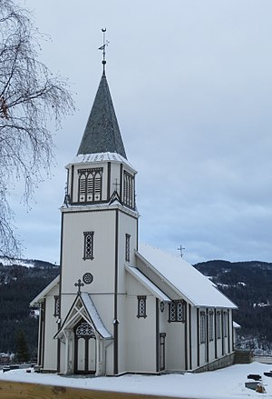 Gol, Norway - Gol Church