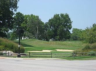 Perin Village Site - Overview of the Perin Site, now a golf course