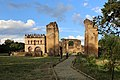 Gondar, cittadella, resti dell'atrio di ingresso, archivio e biblioteca 01.jpg