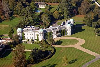 Goodwood House - From the air