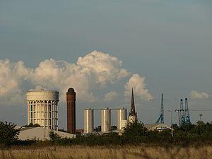 Goole - Image: Goole Skyline