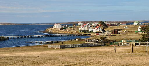 Goose Green, Falkland Islands wide
