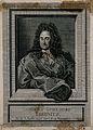 Gottfried Wilhelm, Baron von Leibniz. Line engraving by P. S Wellcome V0003475.jpg