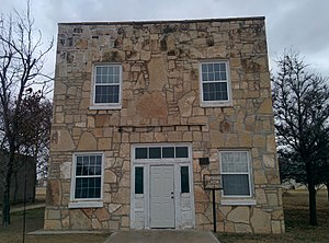 National Register of Historic Places listings in Harmon County, Oklahoma - Image: Gould Community Building