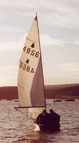 GP14 - GP14 from astern