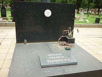 Hendrik Verwoerd - Verwoerd's grave at Heroes' Acre in Pretoria