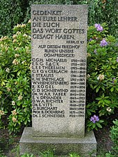 Gedenkstein auf dem Berliner Domfriedhof II (Quelle: Wikimedia)