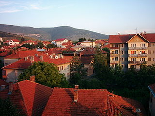 Pljevlja Place in Montenegro