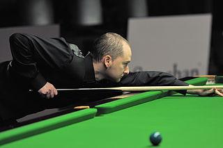 Graeme Dott Scottish professional snooker player, 2006 world champion