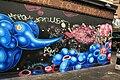 Graffiti in Shoreditch, London - Elephants (13820381973).jpg