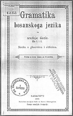 Gramatika bosanskog jezika 1890.jpg