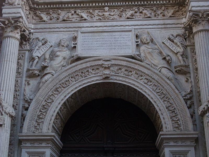 Granada-Catedral de la Encarnación-2-Puerta del Perdón.JPG