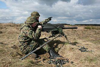 Mk 19 grenade launcher - Image: Granatnik Mk. 19 Wojsko Polskie