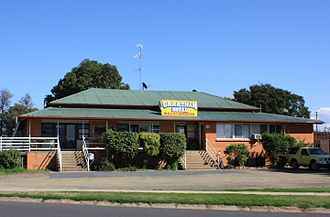 Grantham, Queensland - Grantham Hotel, located in Anzac Ave
